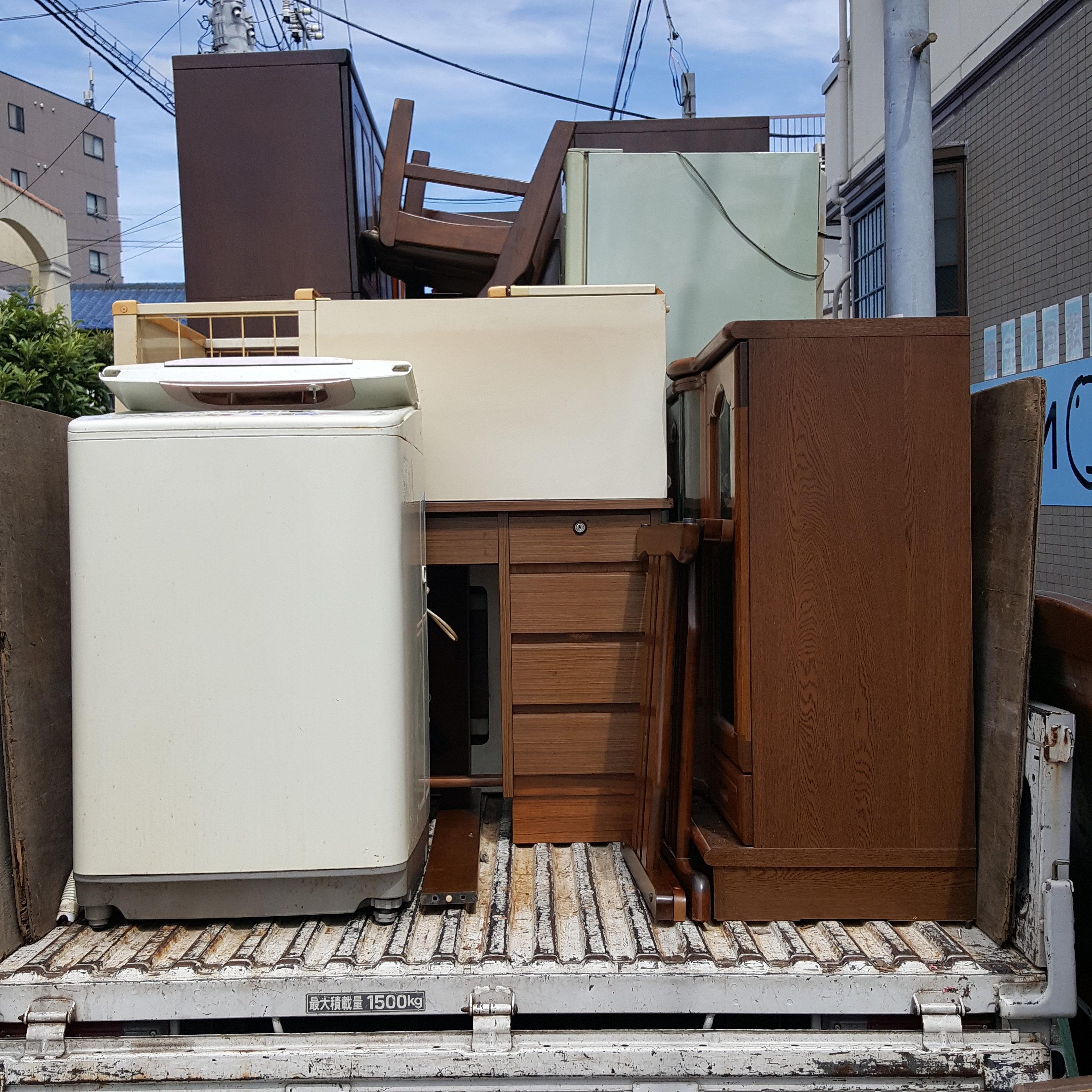 東京都狛江市 大型家具・大型家電回収