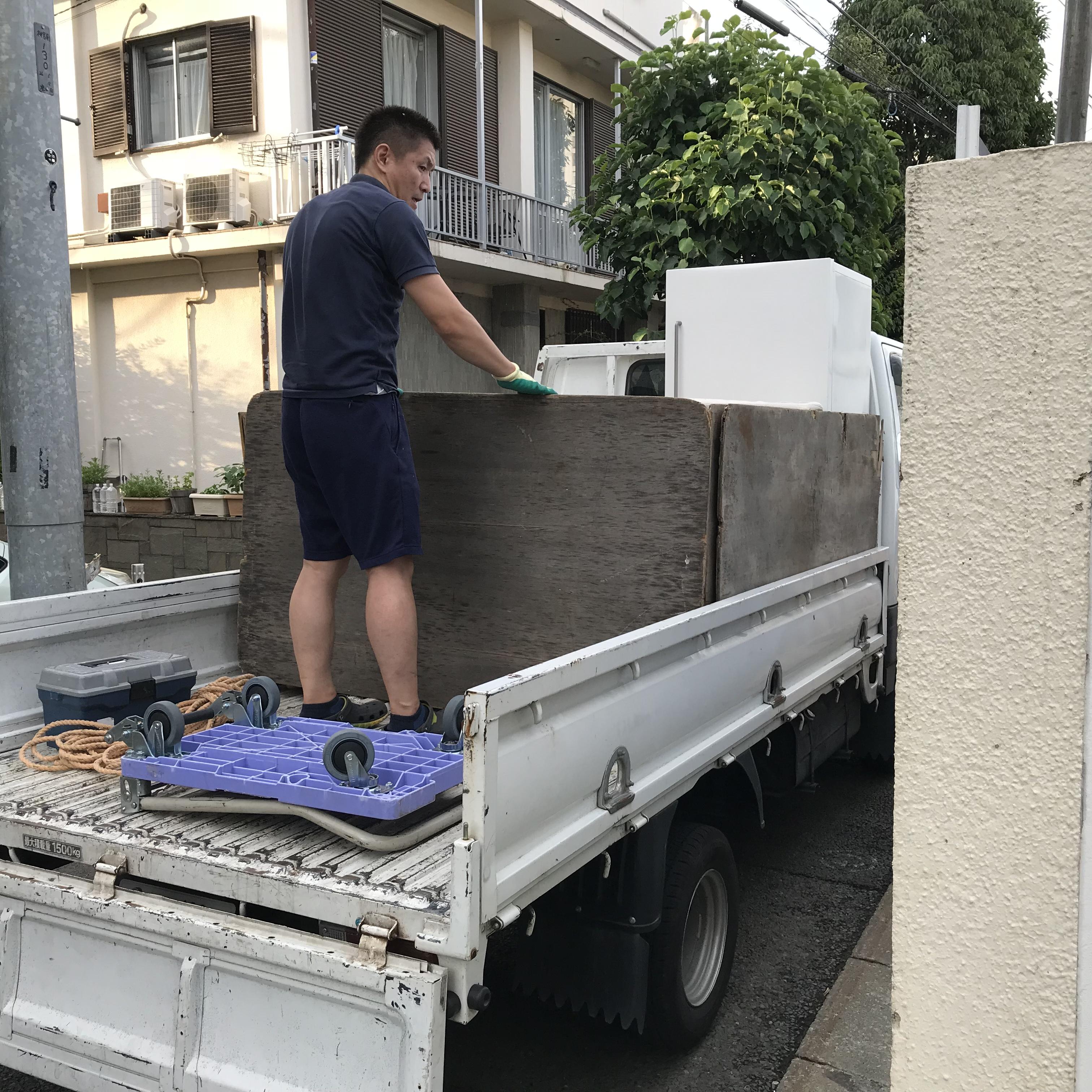 東京都渋谷区 ワンルーム一式(大型家具・家電)回収