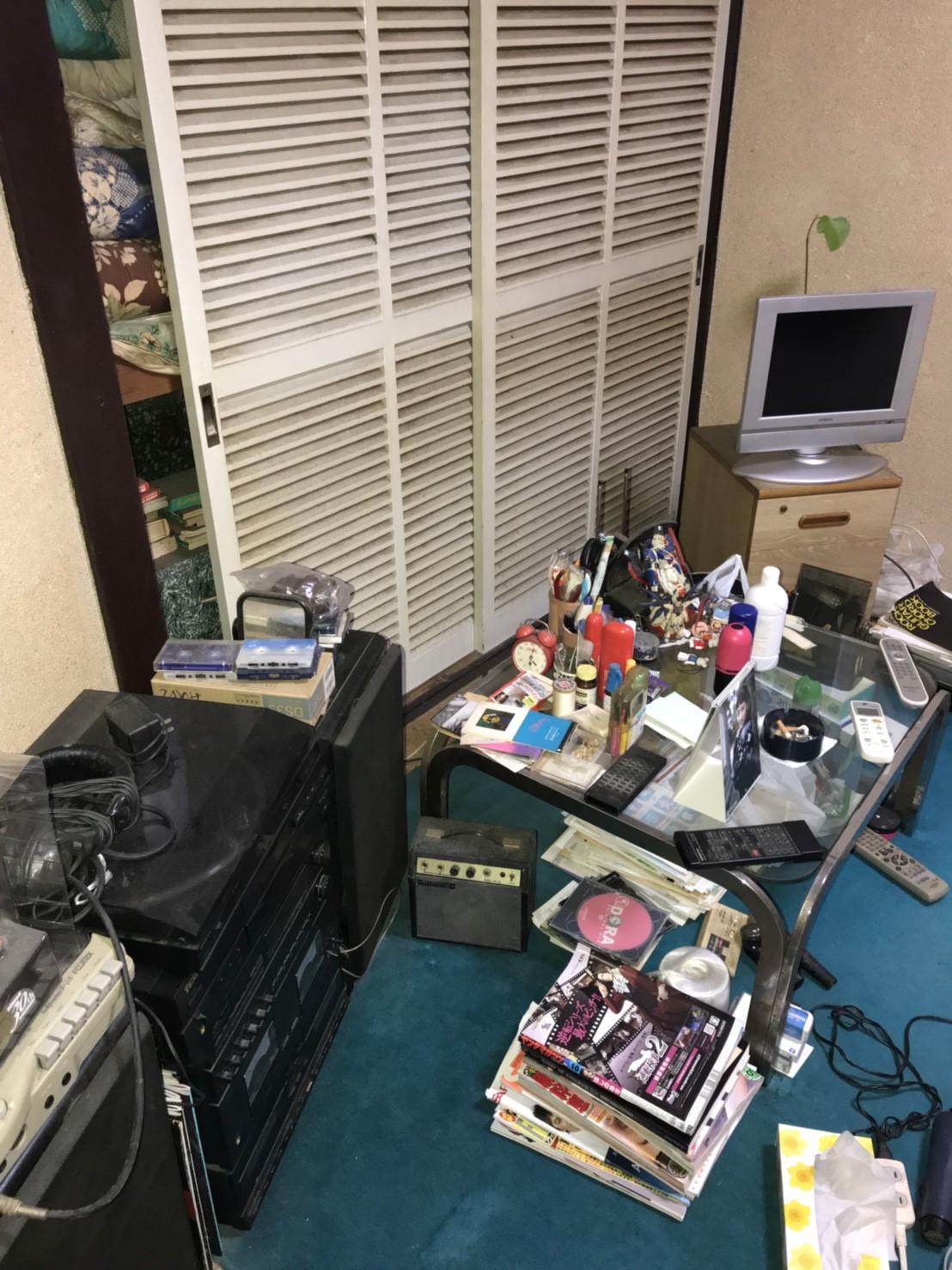 東京都立川市  断捨離にともなう不用品回収