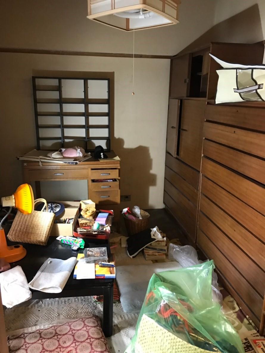 東京都調布市 戸建ての家具全て回収