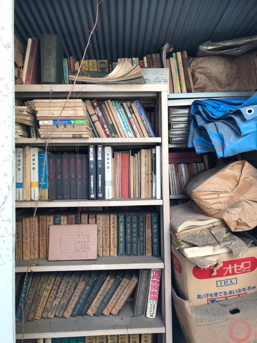 東京都八王子市 物置と物置の中身全て回収