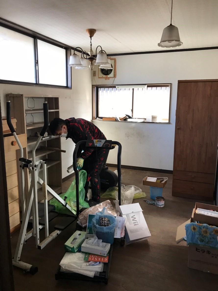 東京都調布市 戸建ての一部屋全て不用品回収