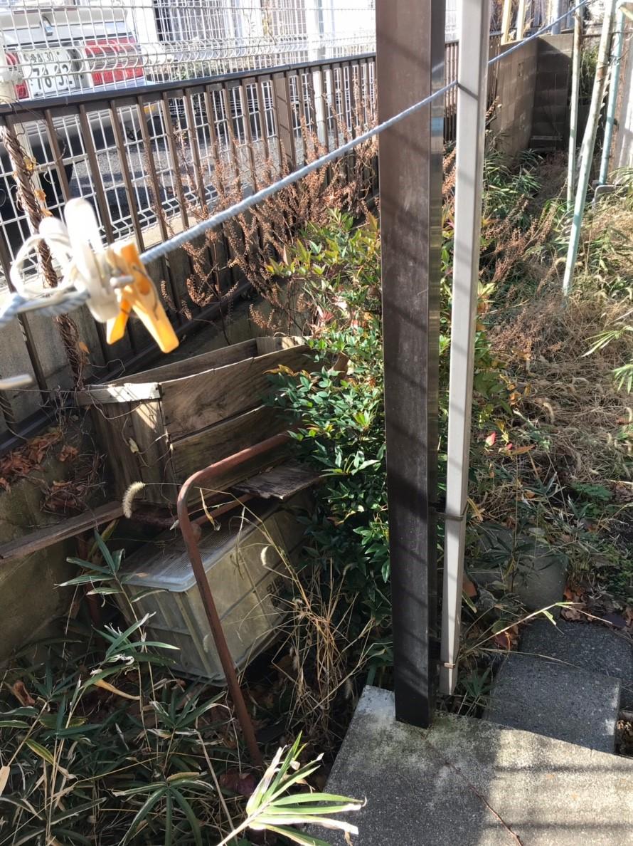 東京都西東京市  庭周りの不用品回収