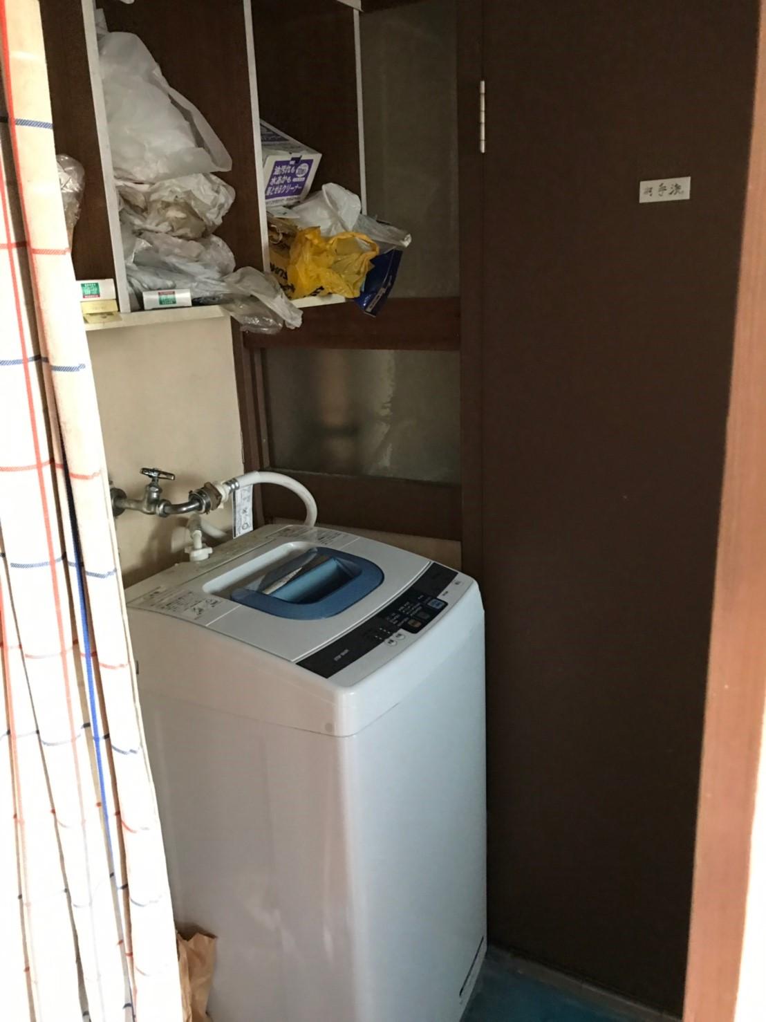 東京都府中市 洗濯機、日用雑貨など不用品回収