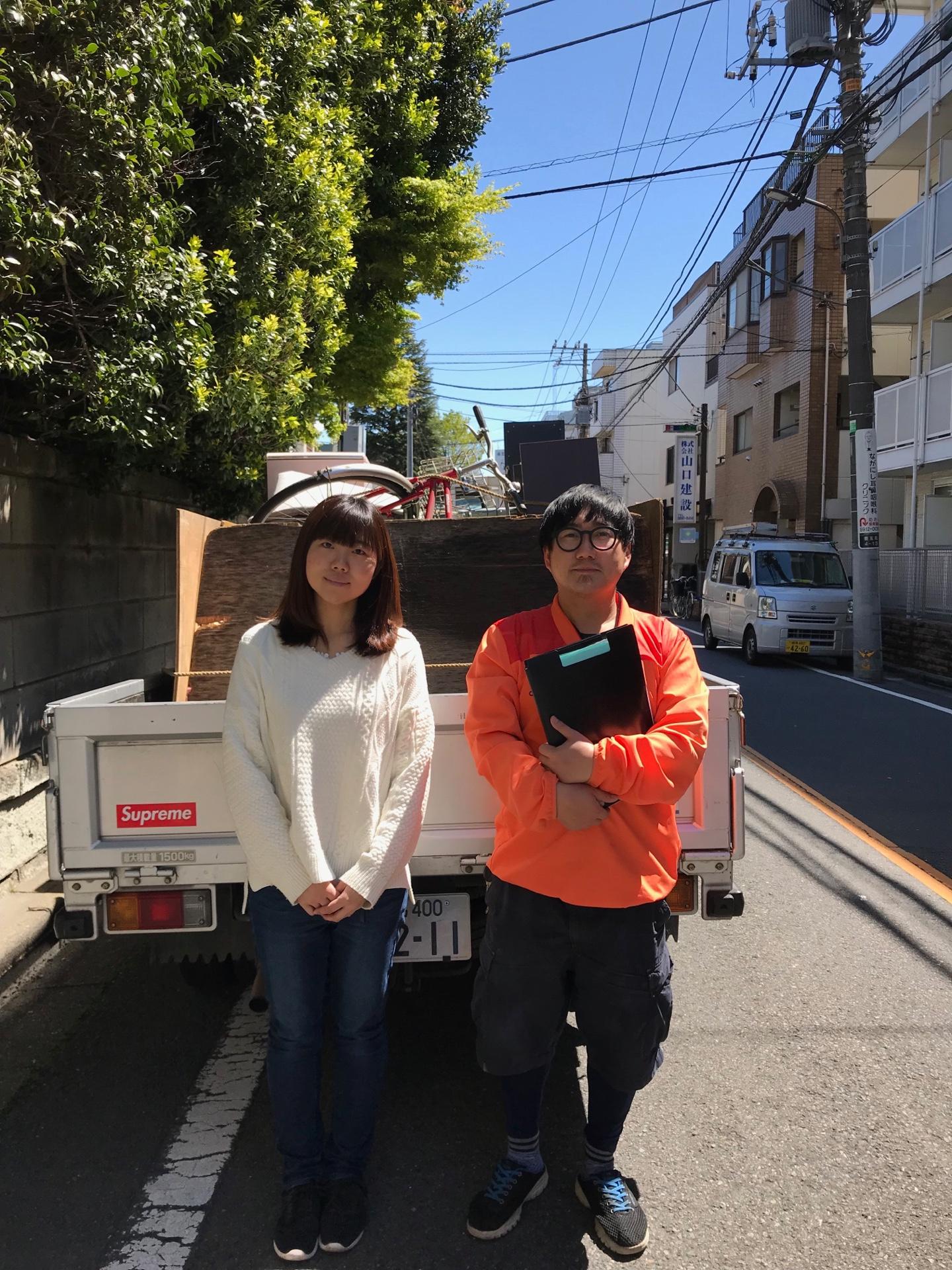 東京都練馬区 1K不用品回収