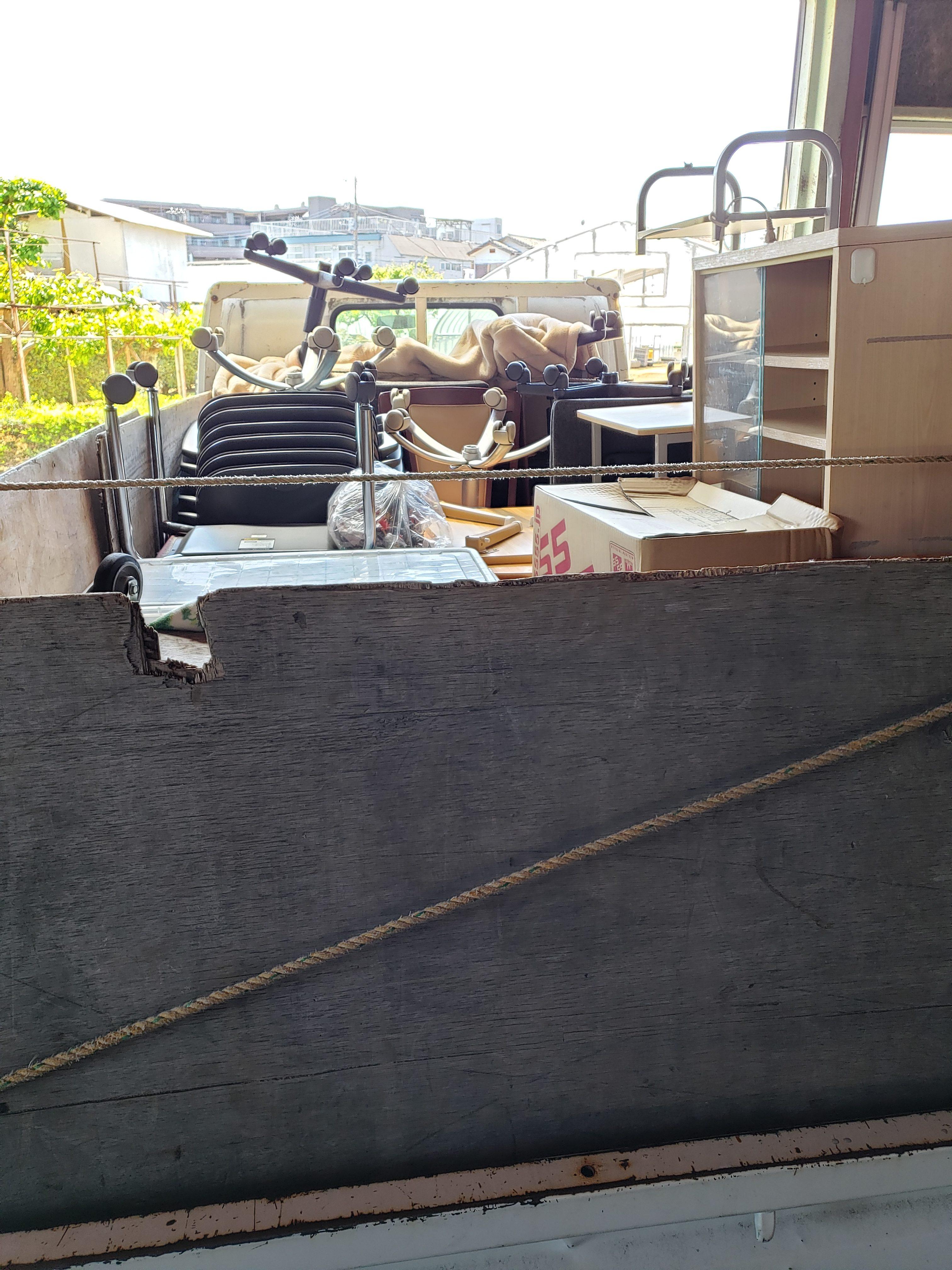 神奈川県横浜市 オフィスの不用品回収