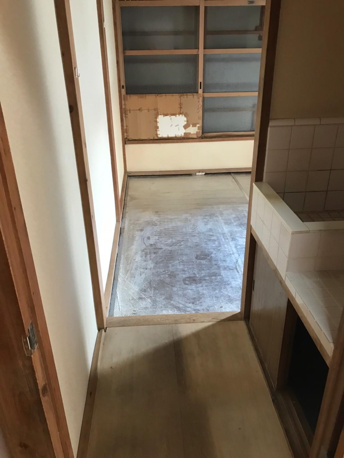 東京都八王子市 1K遺品整理