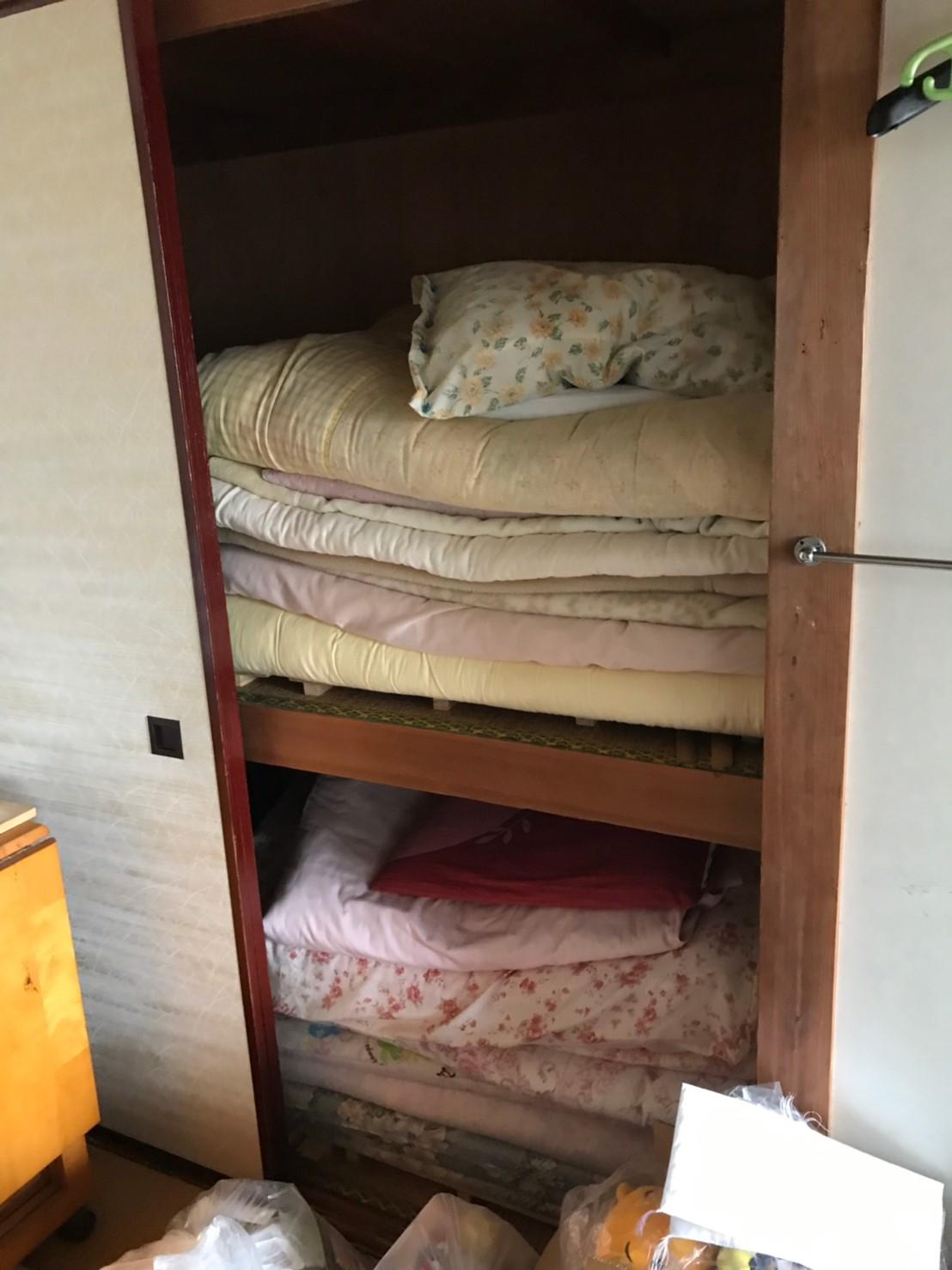 東京都小平市 階段3階2K生前整理の不用品回収