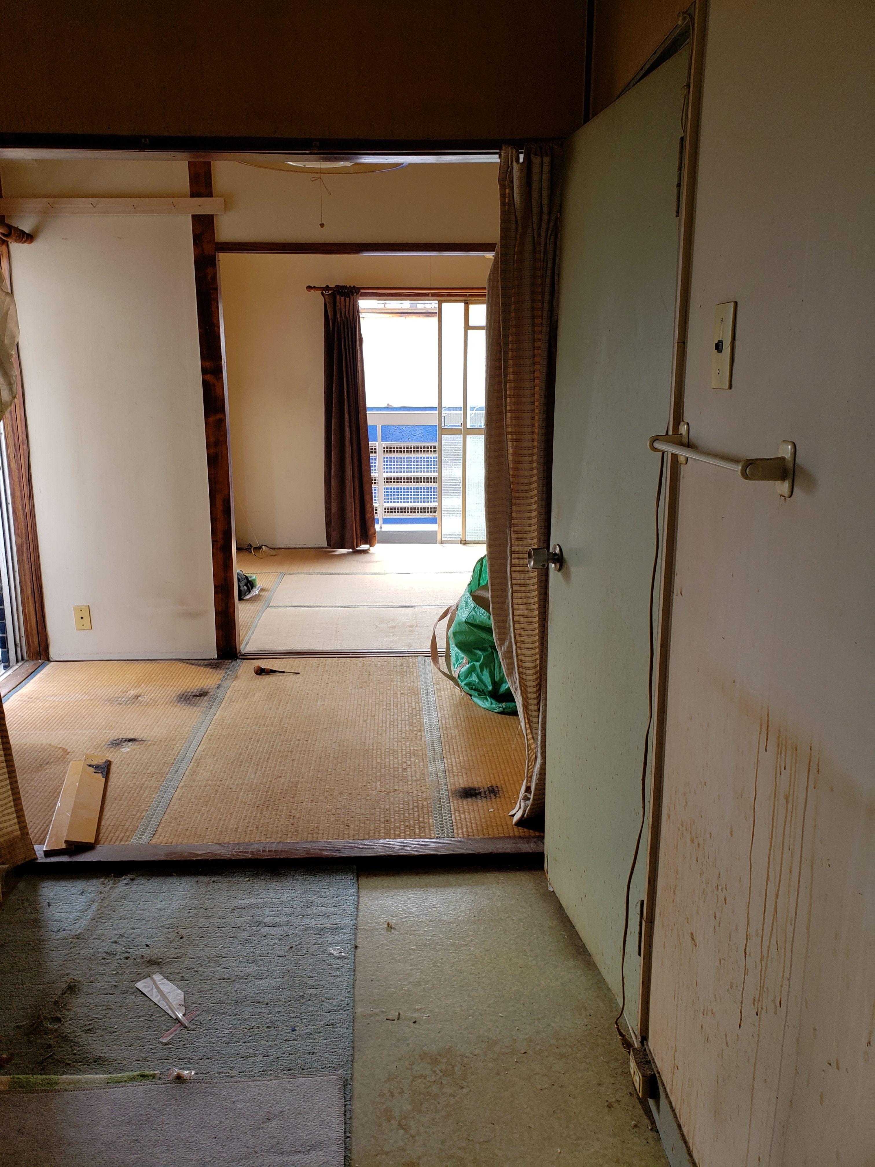 東京都板橋区 1DK遺品整理