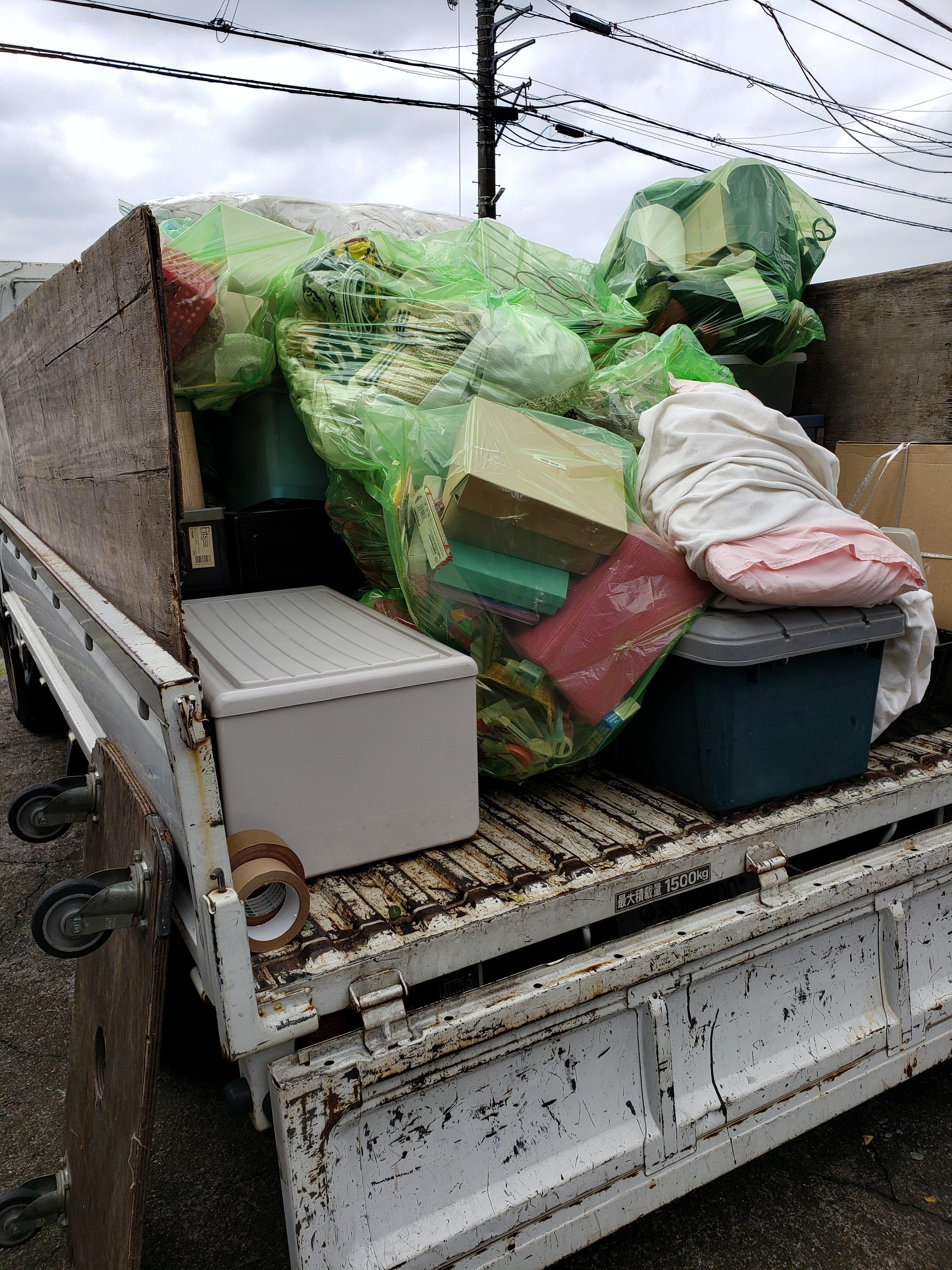 東京都武蔵村山市 ゴミ屋敷の片付けと不用品回収
