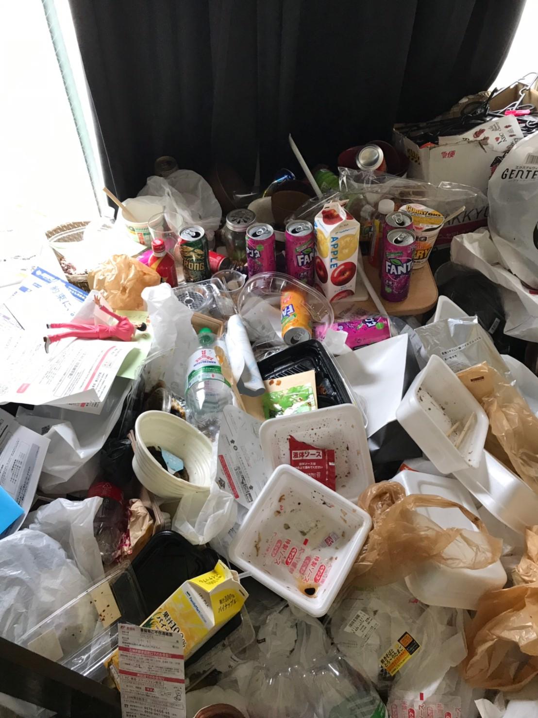 東京都清瀬市 1Kごみ屋敷の片付けと不用品回収
