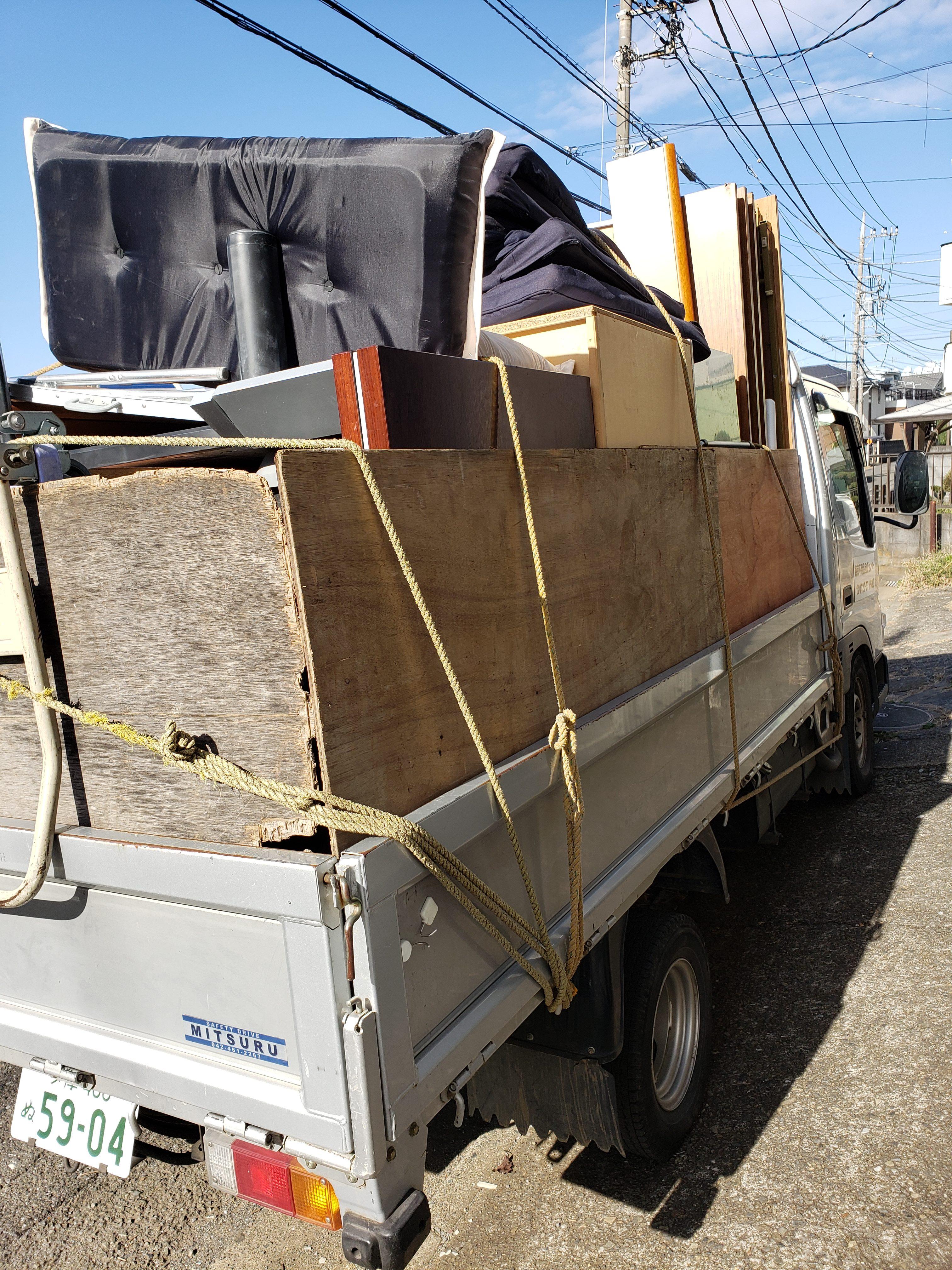 東京都狛江市 2DK残置物回収