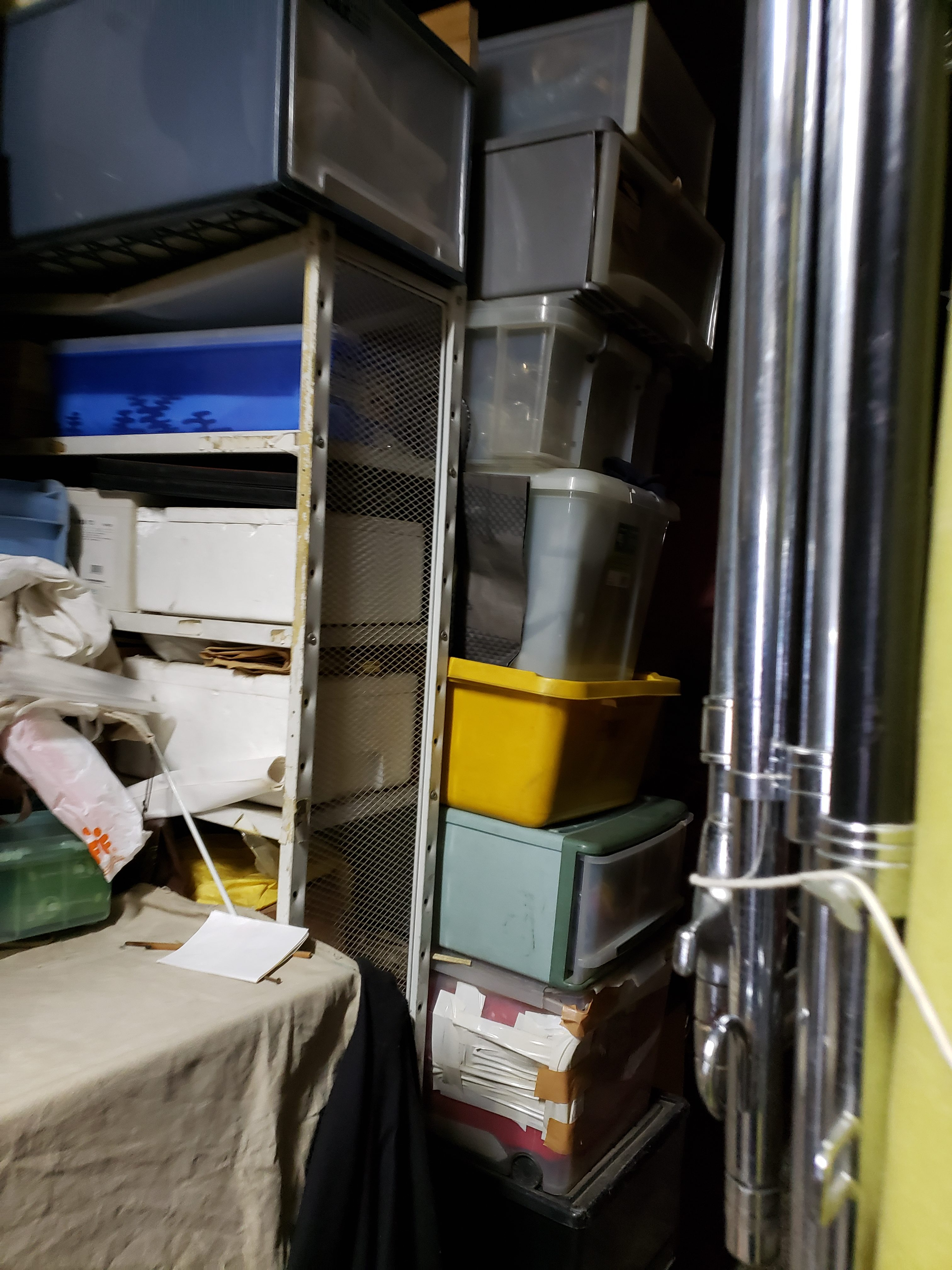 東京都練馬区 レンタルボックスの不用品回収