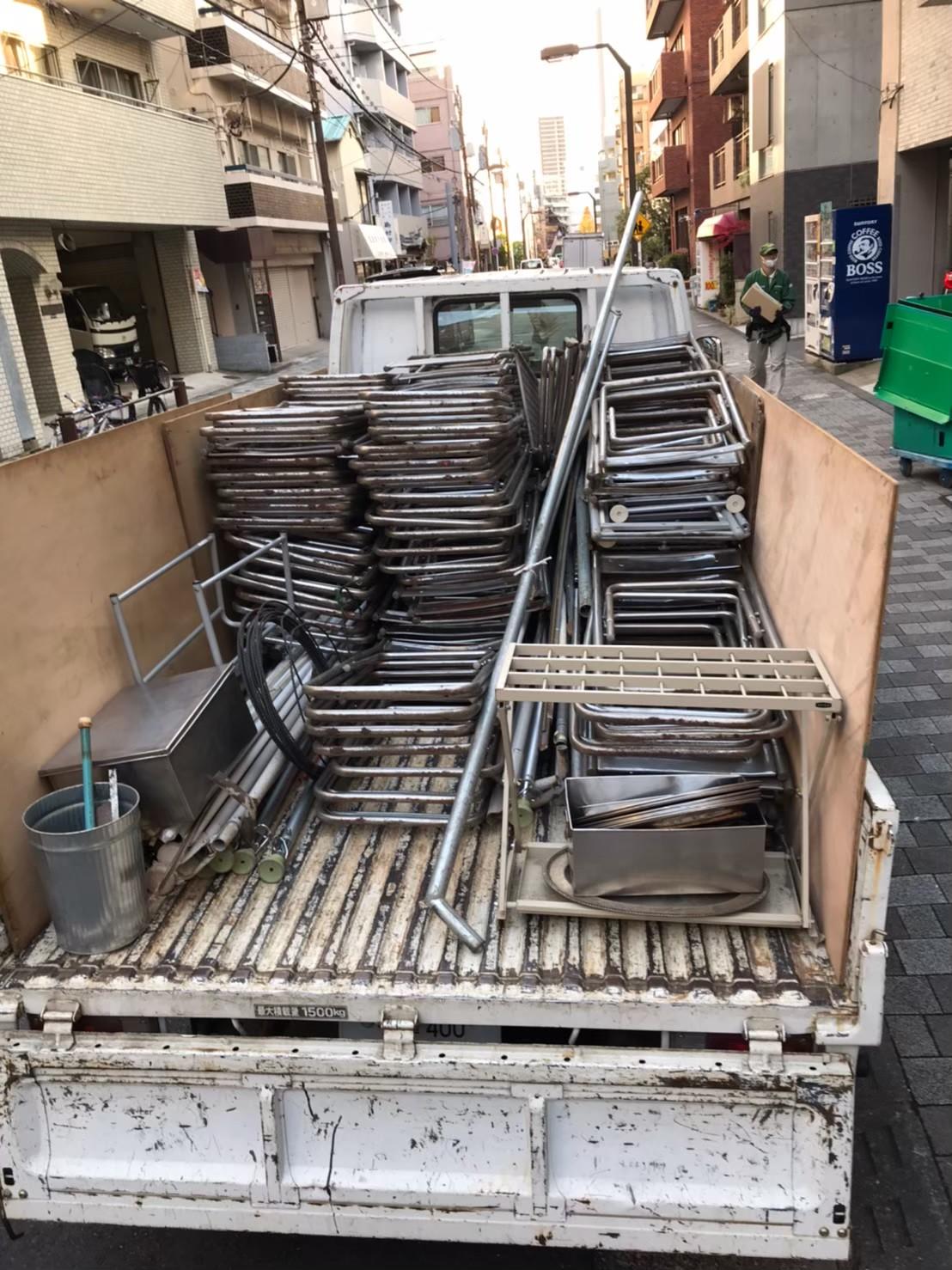 東京都練馬区 会社倉庫の不用品回収
