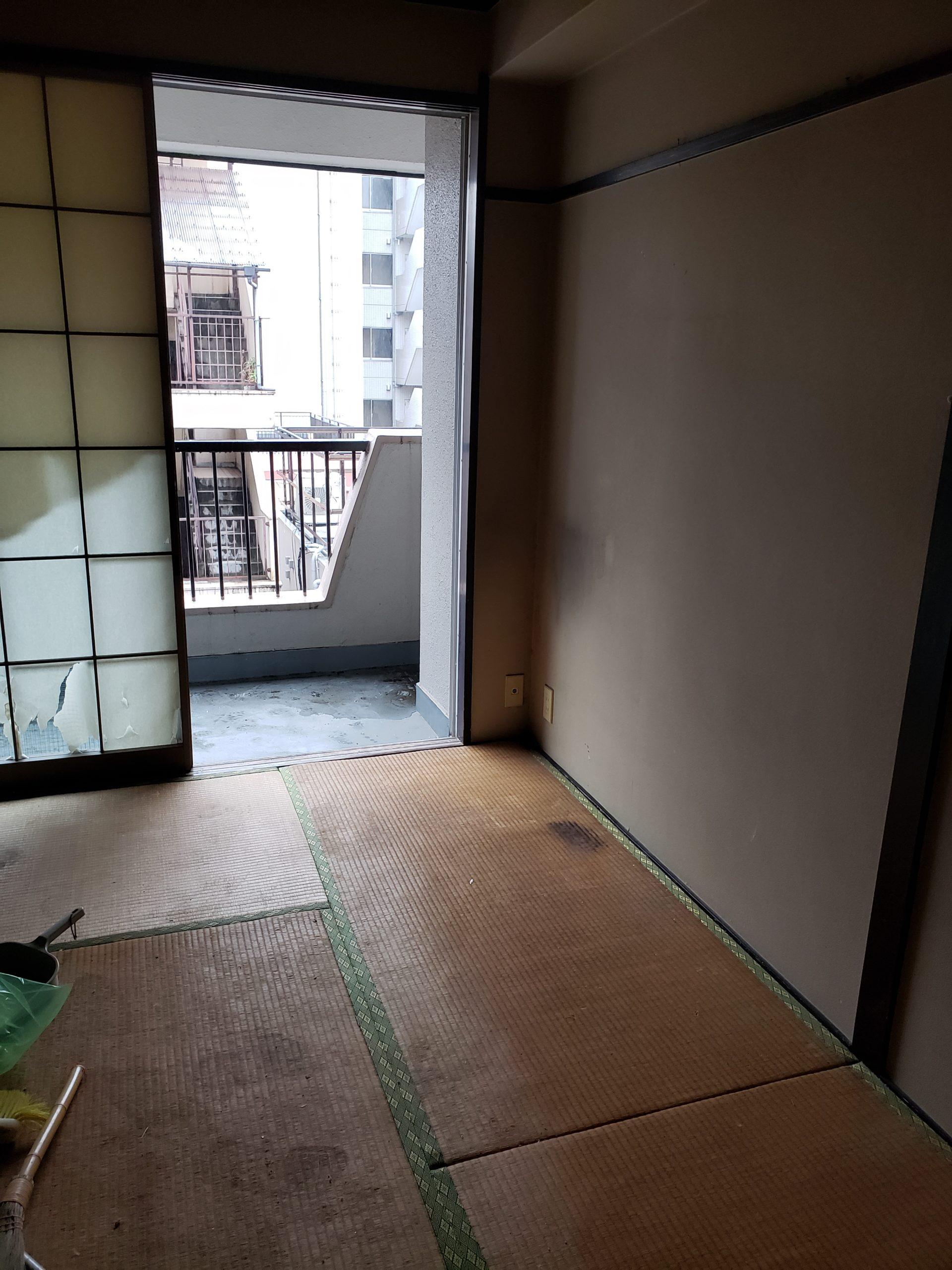 東京都練馬区 1DK残置物の回収