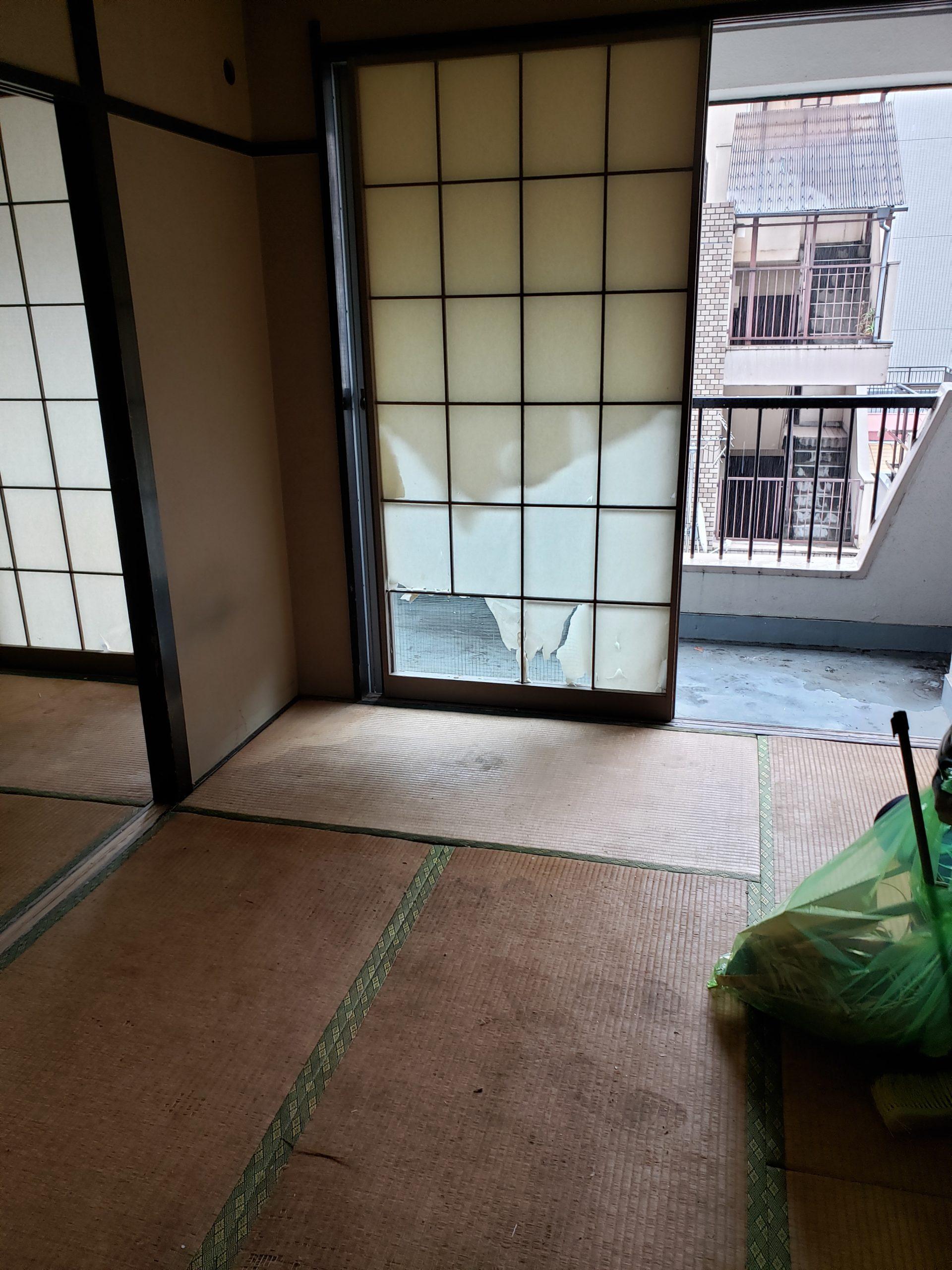 東京都国立市 2DK遺品整理