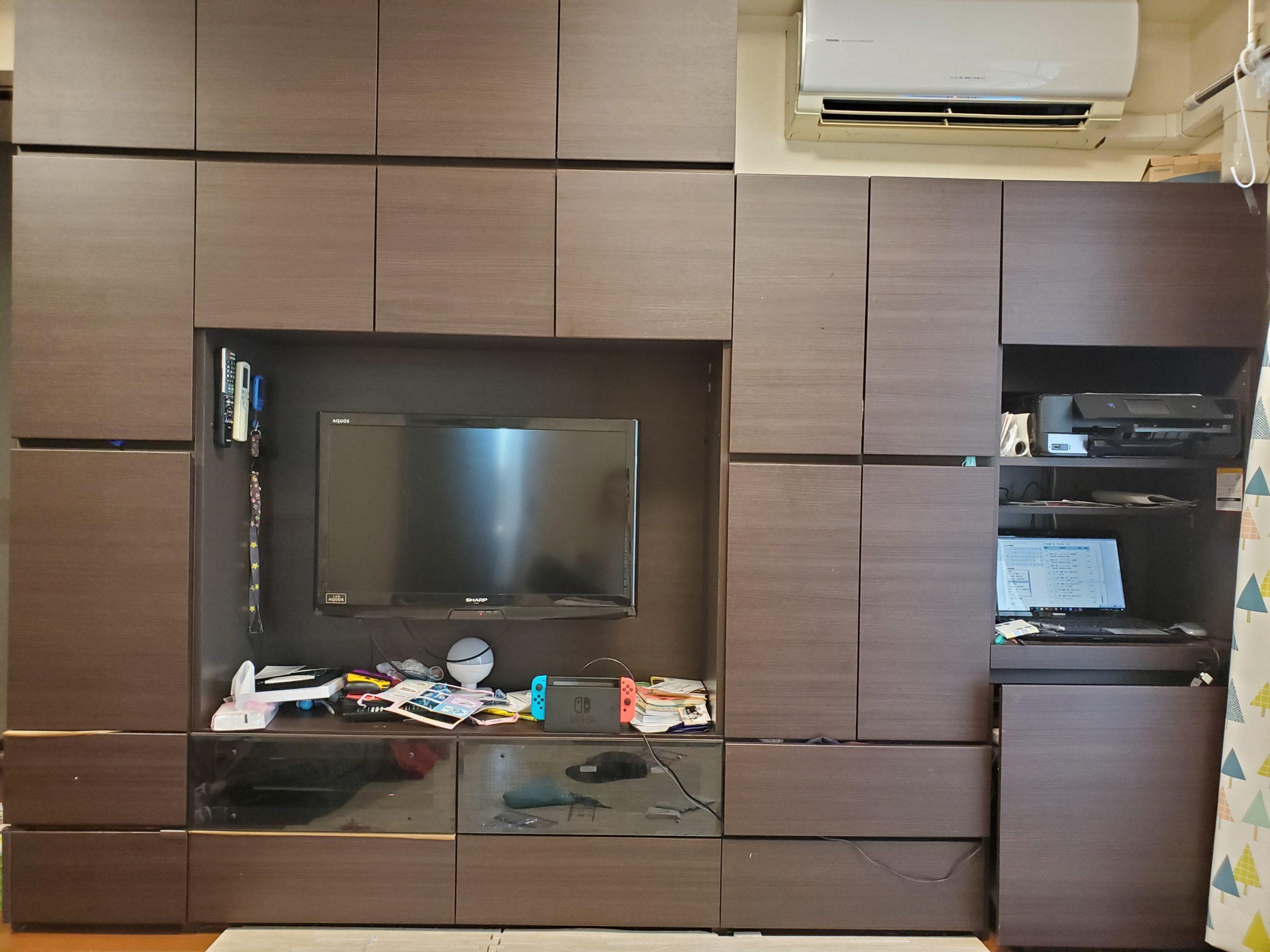 東京都西東京市 大型家具の不用品回収