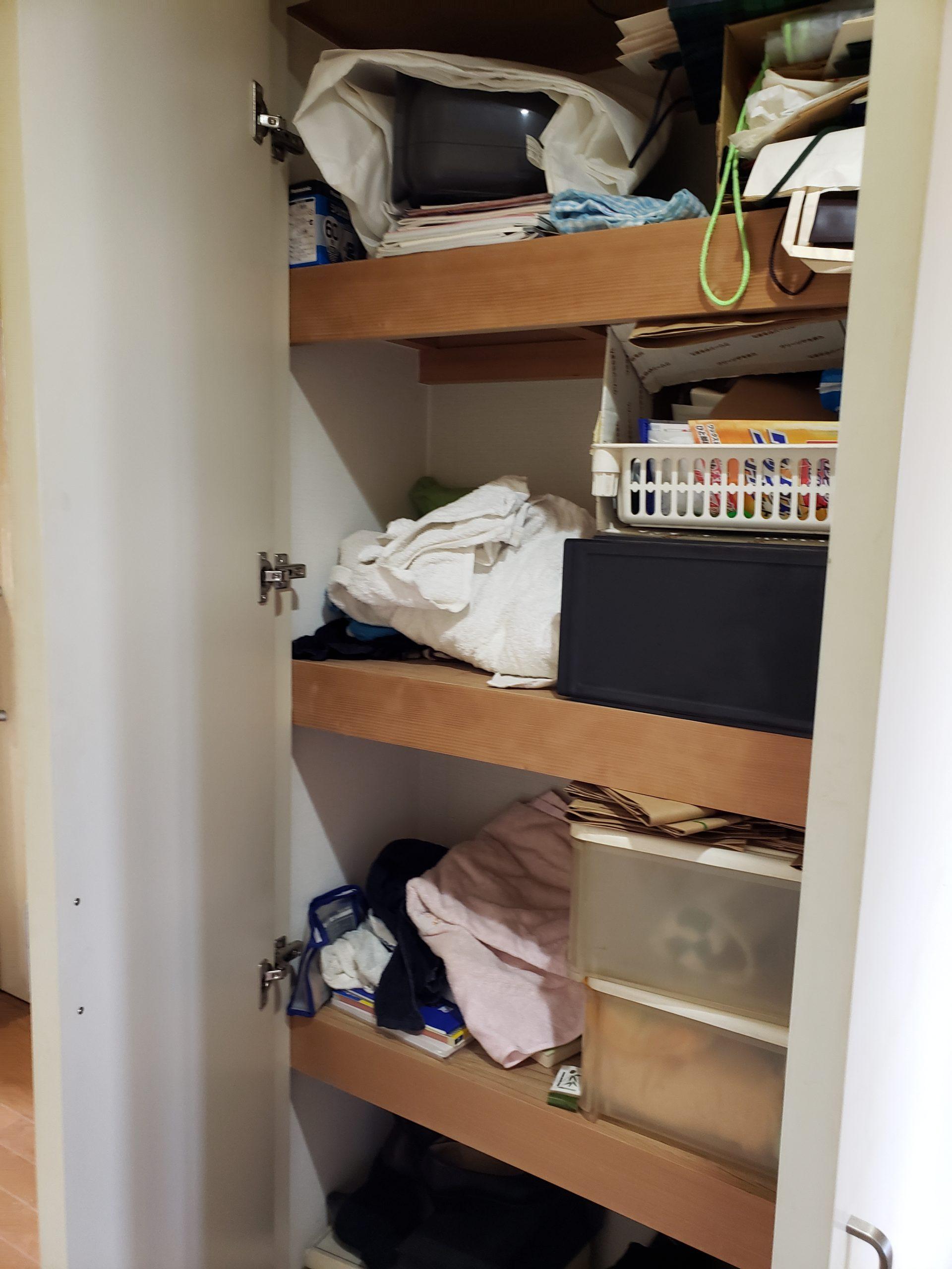 東京都中野区 押し入れの不用品回収