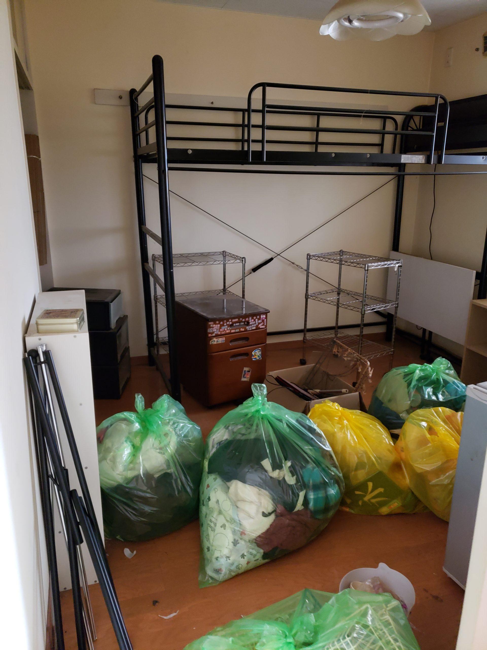 東京都練馬区 一部屋まるごと片付けと不用品回収