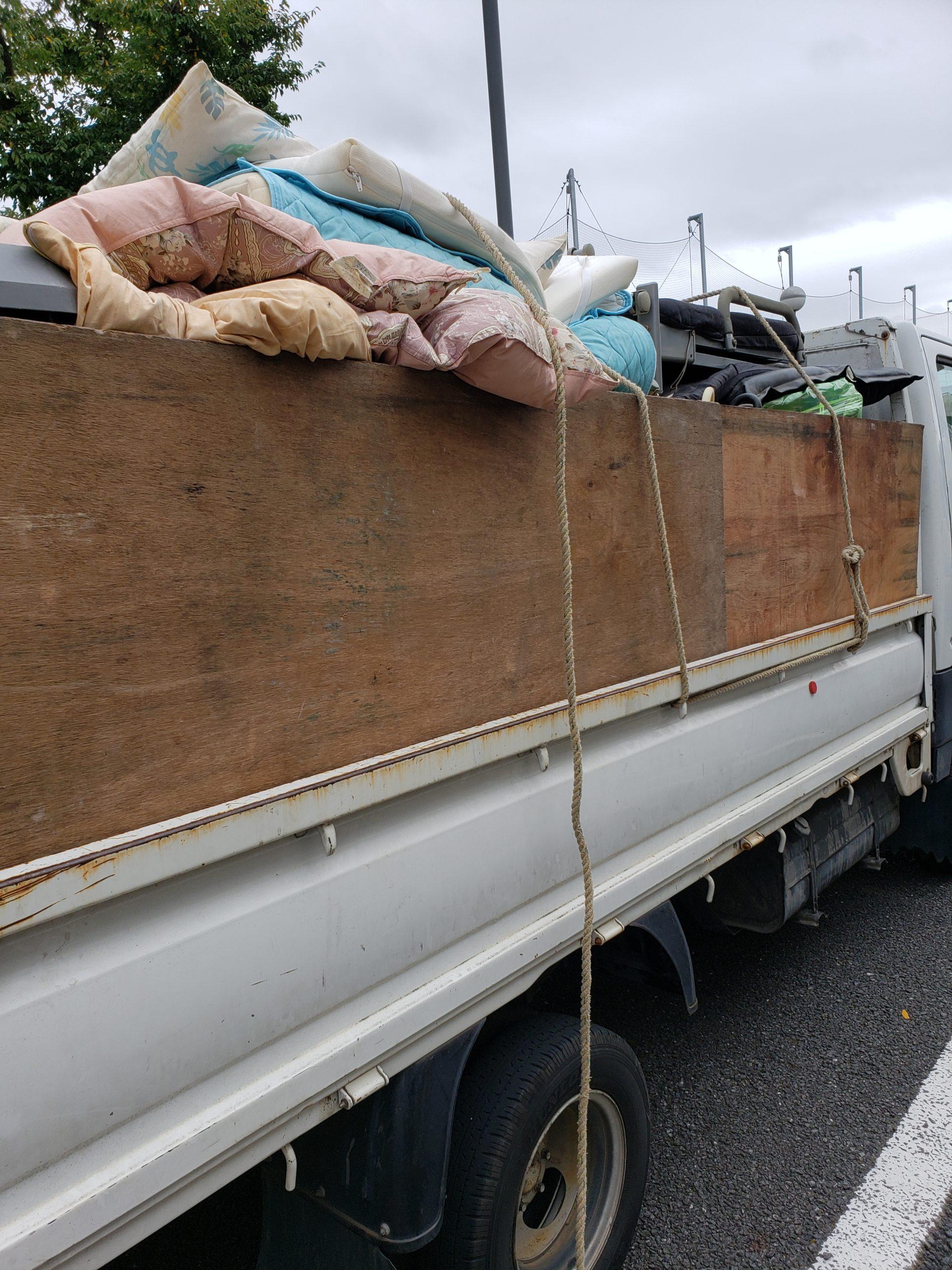 東京都稲城市 1DKのゴミ屋敷片付けと不用品回収