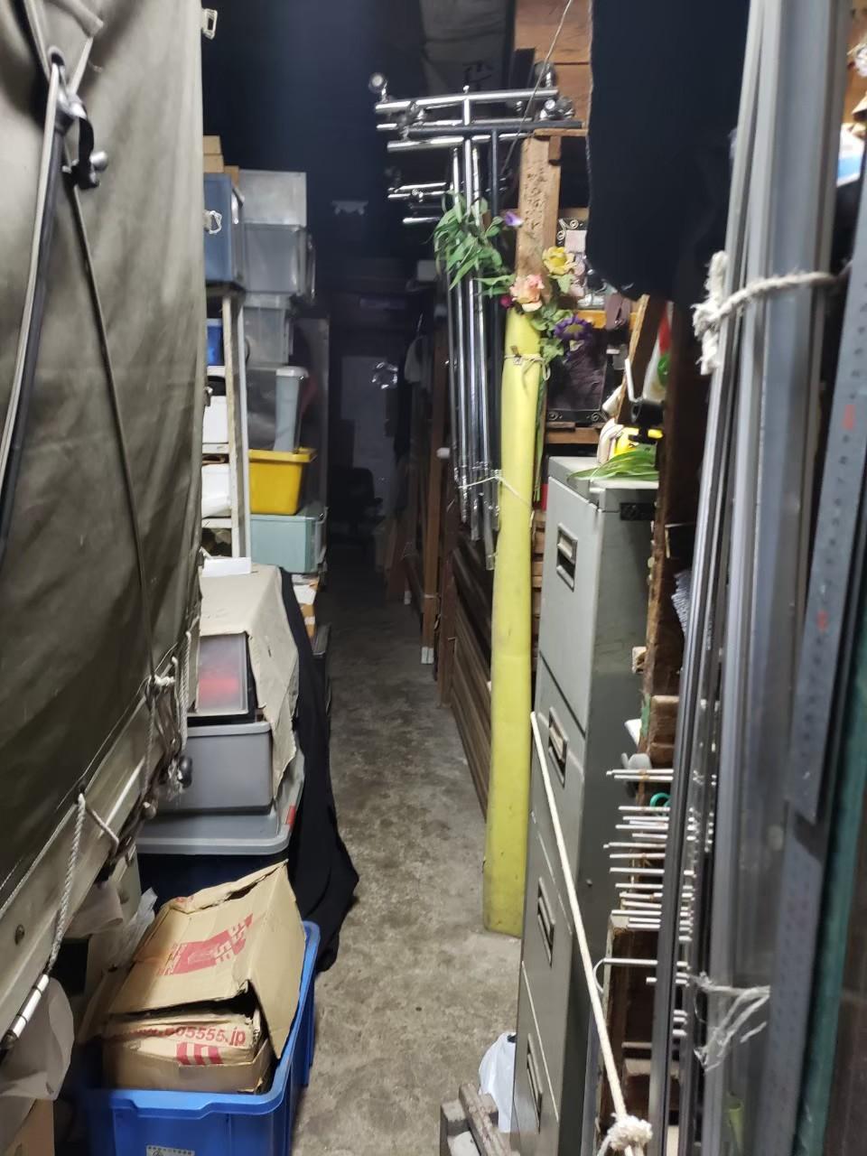 東京都狛江市 会社倉庫内の不用品回収