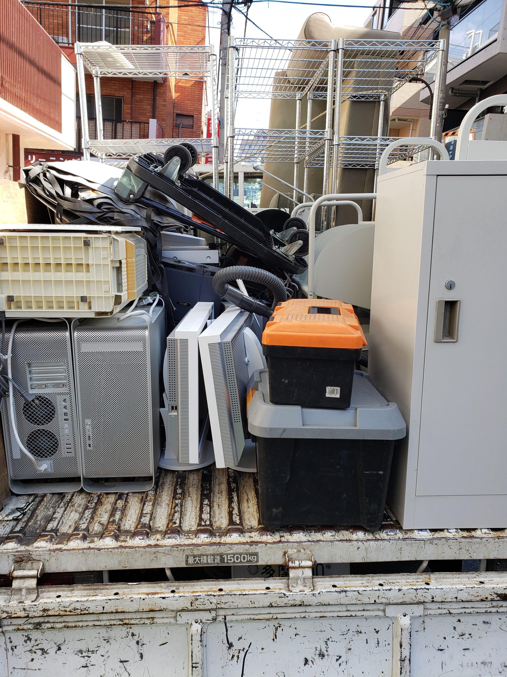 東京都渋谷区 オフィスの不用品回収