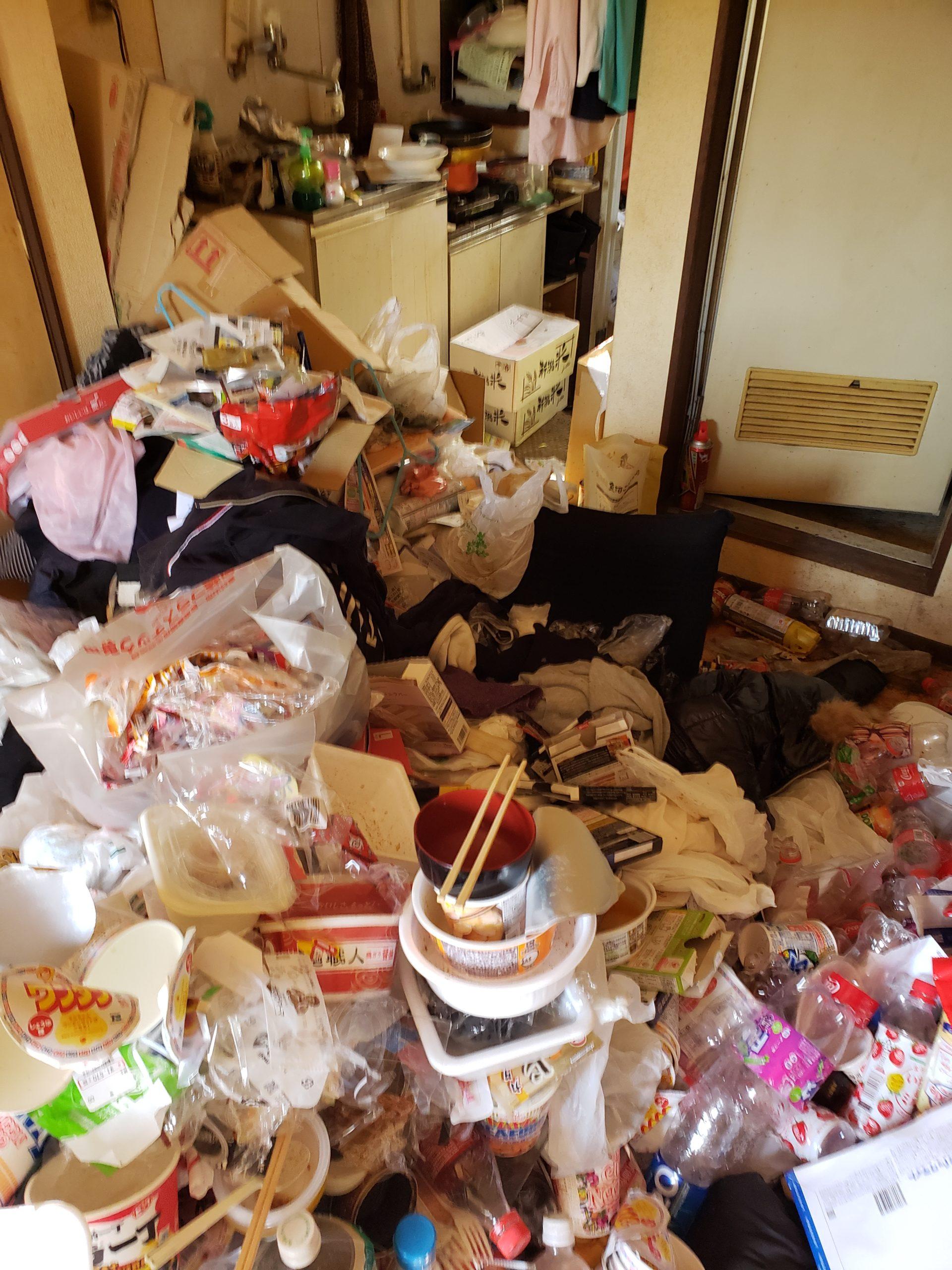 東京都清瀬市 ゴミ屋敷の片付け