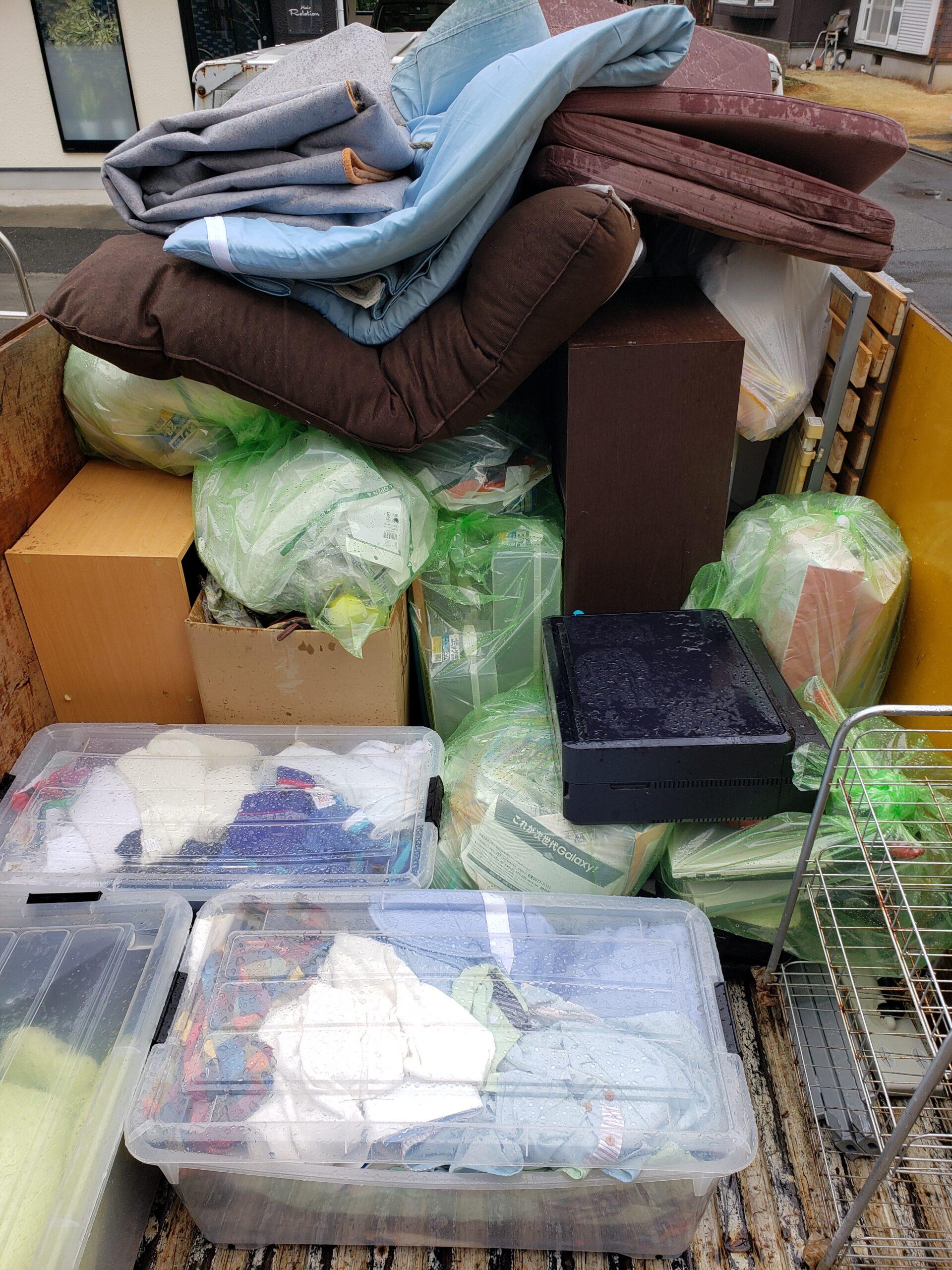 東京都東大和市 不用品回収