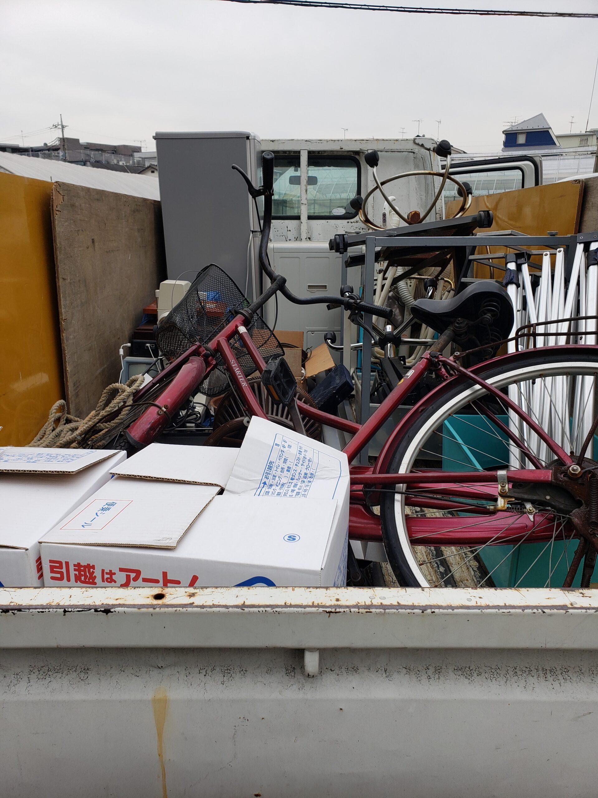 東京都調布市 お引越しに伴う不用品回収