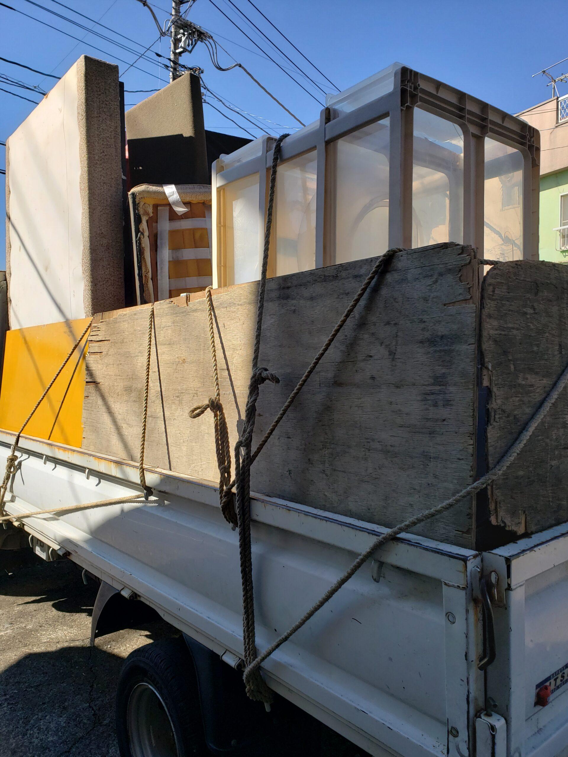 東京都杉並区 倉庫内の不用品回収