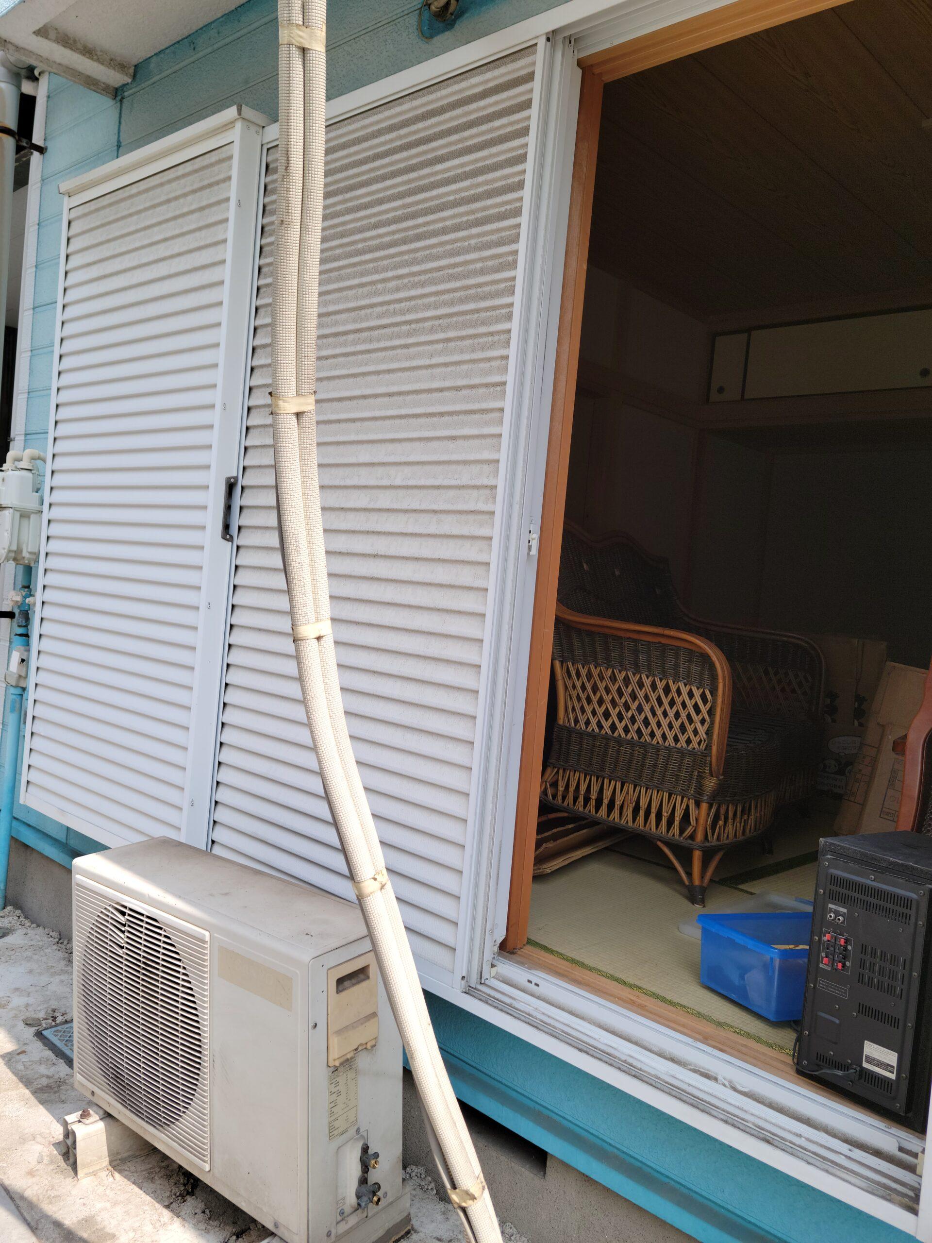東京都板橋区 不用品回収とエアコン取外し回収